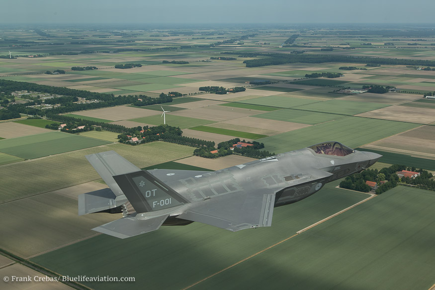 F 35-A (JSF) boven Nagele